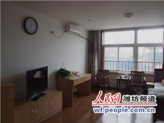 潍坊鹤翔安养中心宽敞的养老房间