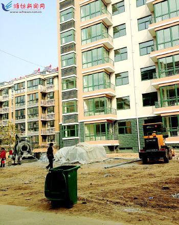 奎文广文苑小区延期两年仍未交房 急坏业主(图