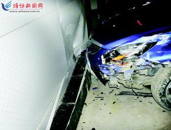 汽车4S店维修工刘某没有驾照却帮顾客试车,不料速度过快车辆失控高清图片