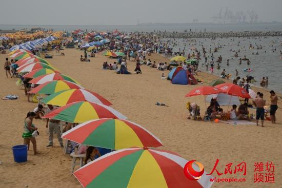 潍坊/潍坊滨海欢乐海沙滩