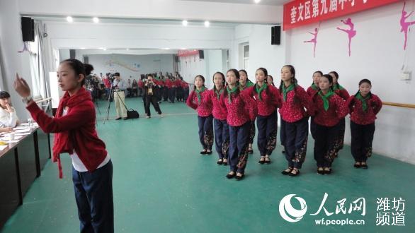 中学生舞蹈图片