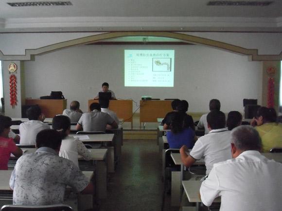 潍坊医学院附属医院大柳树院区开展埃博拉出血热规范诊疗培训