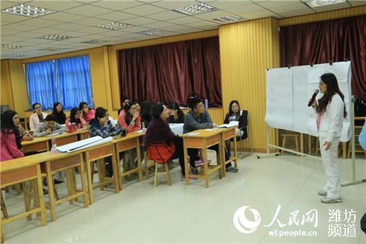 潍坊北海学校举行观影育人培训 让电影进课堂