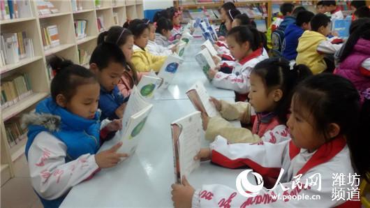 寒亭区实验小学延时放学让学生体验快乐课程