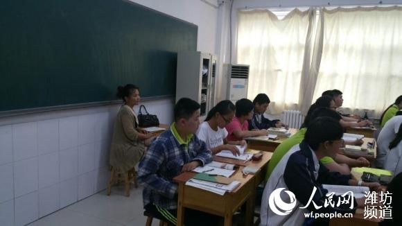 潍坊北海学校:家长进课堂 家校共建促成长