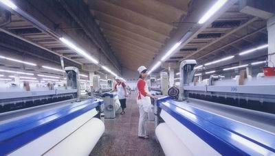 桑莎/桑莎集团纺织车间
