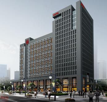 盛宏国际商务酒店效果图(北面)