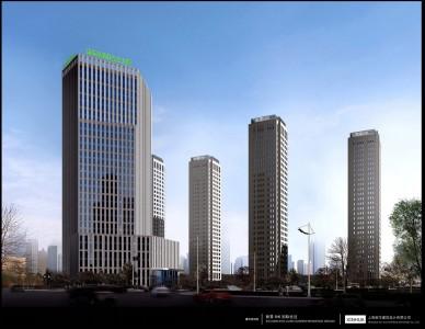 该项目位于潍坊市北海路以西,玄武街以北的卓信eho丽景国际城项目地块