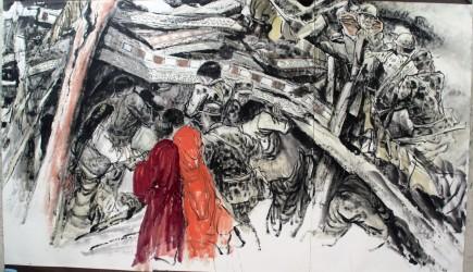 中国魂的儿童绘画_关于中国魂的手抄报简单图片